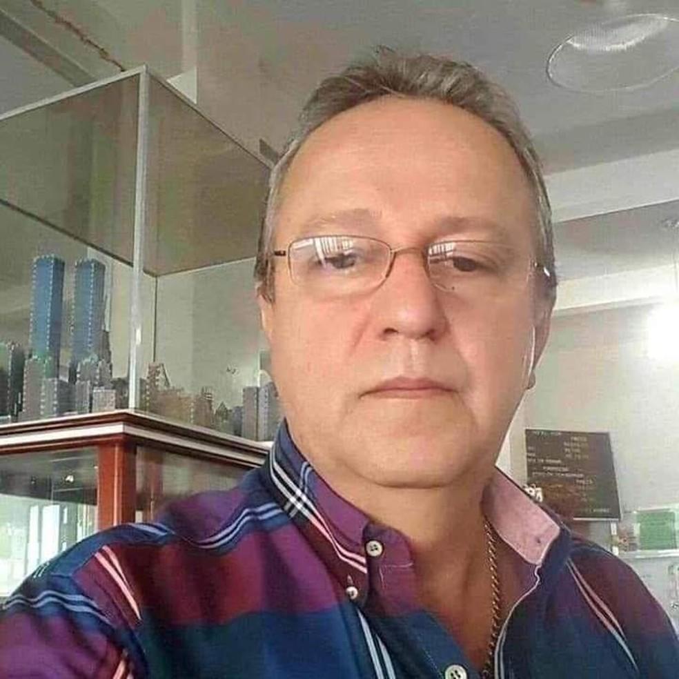 Valdir Farinha, de 60 anos, foi morto a tiros na noite dessa quarta-feira (12) em Rondonópolis — Foto: Arquivo pessoal
