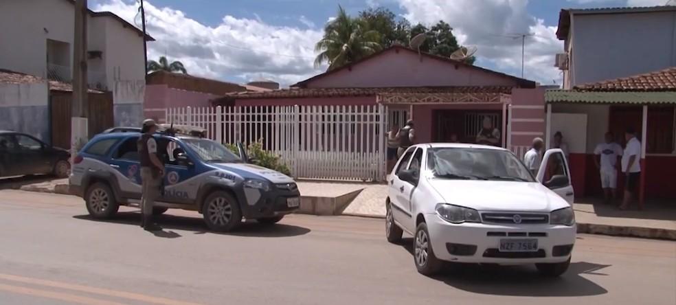 Caso ocorreu na Rua Barão do Cotegipe, na Vila Regina, em Barreiras — Foto: Reprodução/TV São Francisco