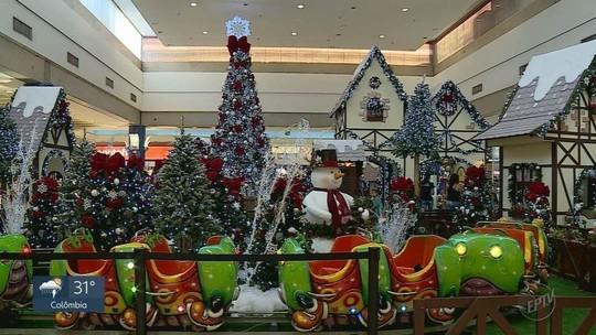 Comércio e shoppings funcionam em horário estendido em dezembro