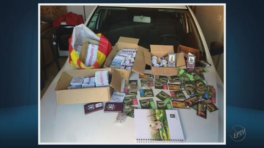 Polícia Civil apresenta quadrilha que traficava sementes de maconha do Chile para o Sul de Minas