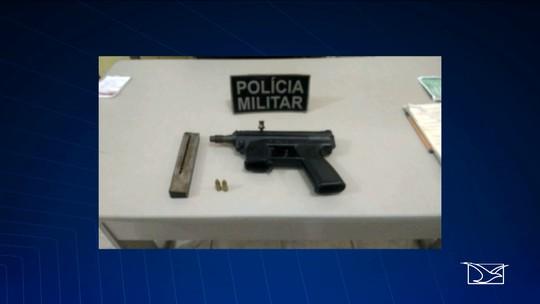 Polícia apreende metralhadora com munição em Santa Luzia, MA