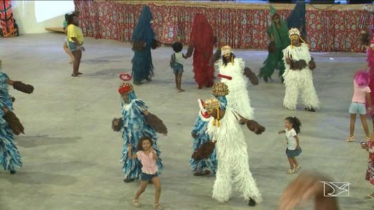 Grupo Bicho Terra anima foliões em São Luís