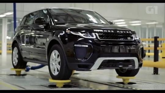 Jaguar Land Rover inaugura fábrica em Itatiaia, RJ
