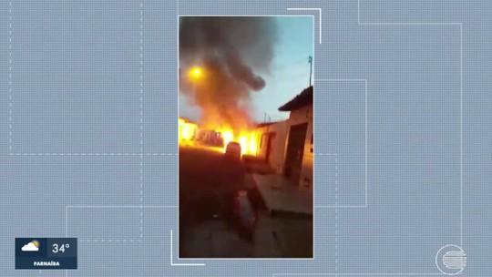 Homem é suspeito de atear fogo em carros de vizinhos na Zona Sudeste de Teresina