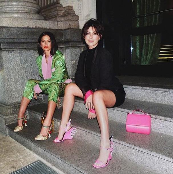 Bruna Marquezine e Fe Paes Leme (Foto: Reprodução/Instagram)