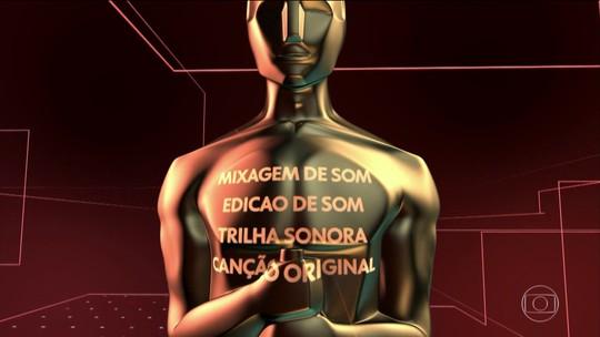 Candidatos ao Oscar tentam encantar a plateia não só com as imagens, mas também com o som