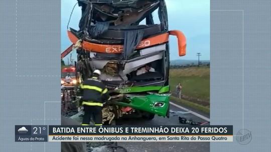 Passageiros de ônibus que bateu em carreta na SP-330 acordaram assustados: 'Foi horrível'