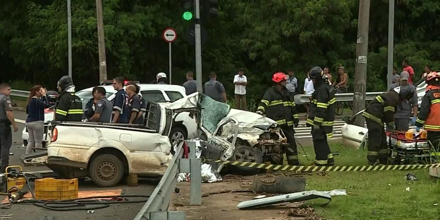 'Entristecido por dentro', diz motorista de caminhão que bateu em picape e matou casal em Piracicaba