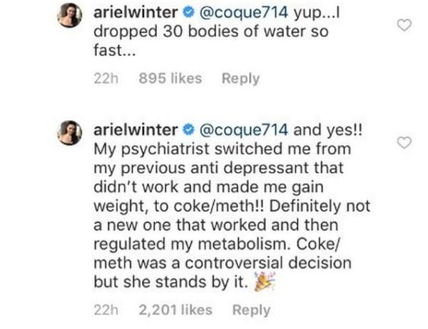 Ariel Winter (Foto: Reprodução Instagram)