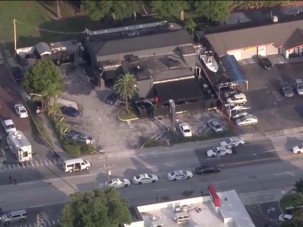 Boate Pulse, em Orlando, foi alvo de ataque de deixou vários mortos nos EUA (Foto: Reprodução/TV Globo)