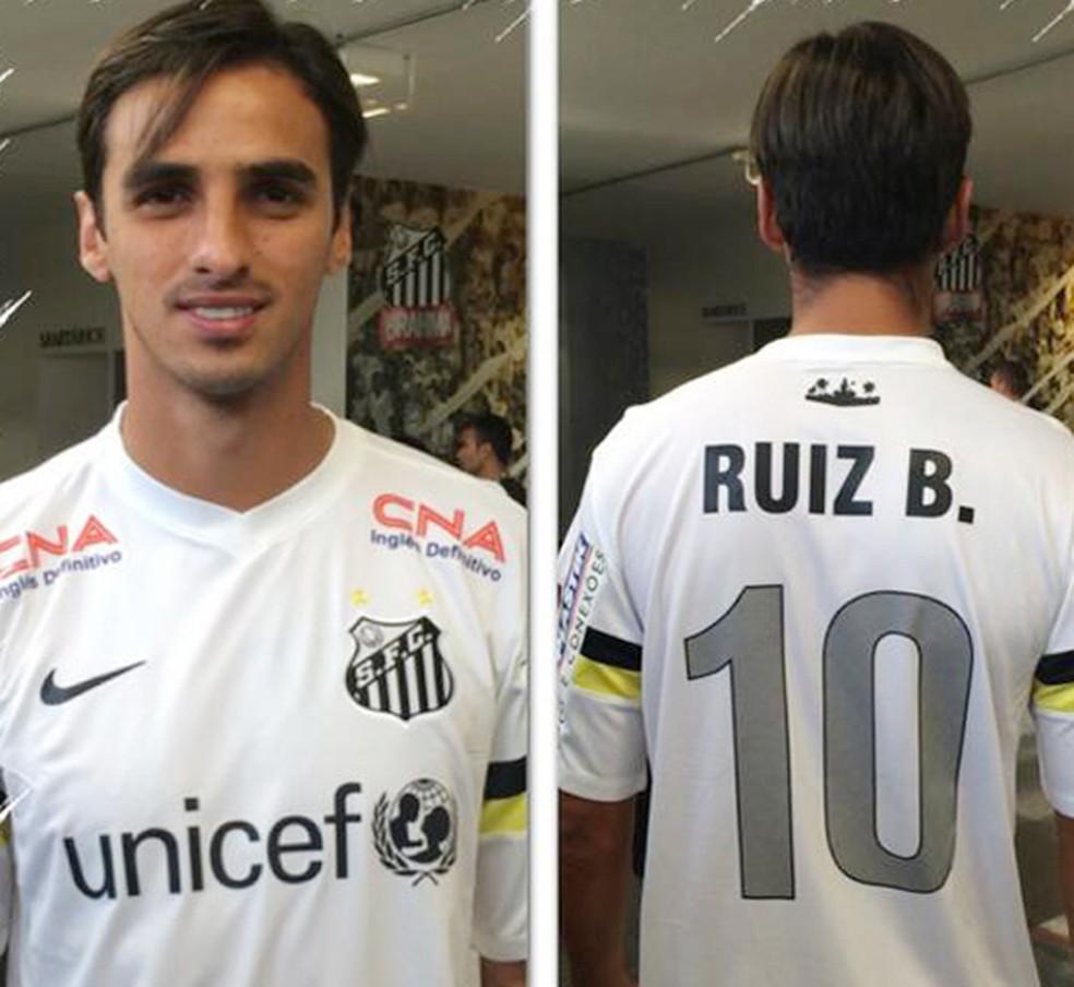 6e6394bd4 Entenda por que Bryan Ruiz virou preferido do Santos para vestir a ...