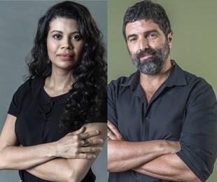 Ana Paula Maia e Carlos Manga Jr. | Divulgação