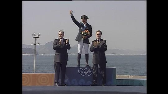 Rodrigo Pessoa: único atleta a receber uma medalha de ouro olímpica no Rio