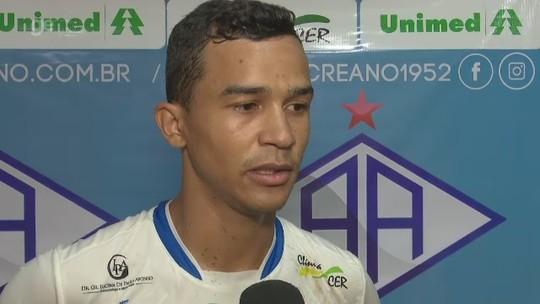 Autor de três gols em goleada do Atlético-AC crê que vitória dá moral ao elenco