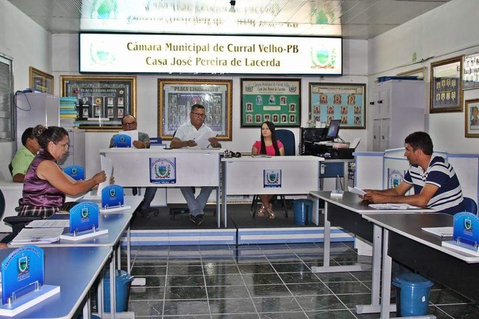 Câmara de Vereadores de Curral Velho mantém sessões quinzenais — Foto: Eduarda Costa/Câmara de Vereadores de Curral Velho