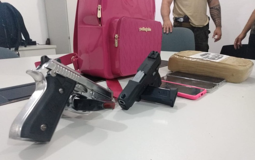 Grupo também traficava armas — Foto: SSP/SE/Divulgação