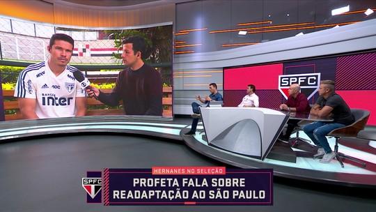 """Hernanes vê """"tendência guardiolística"""", brinca com filme e diz como pode ajudar o São Paulo"""