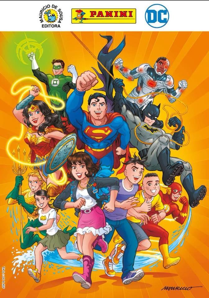Heróis da DC e a Turma da Mônica Jovem (Foto: Divulgação)