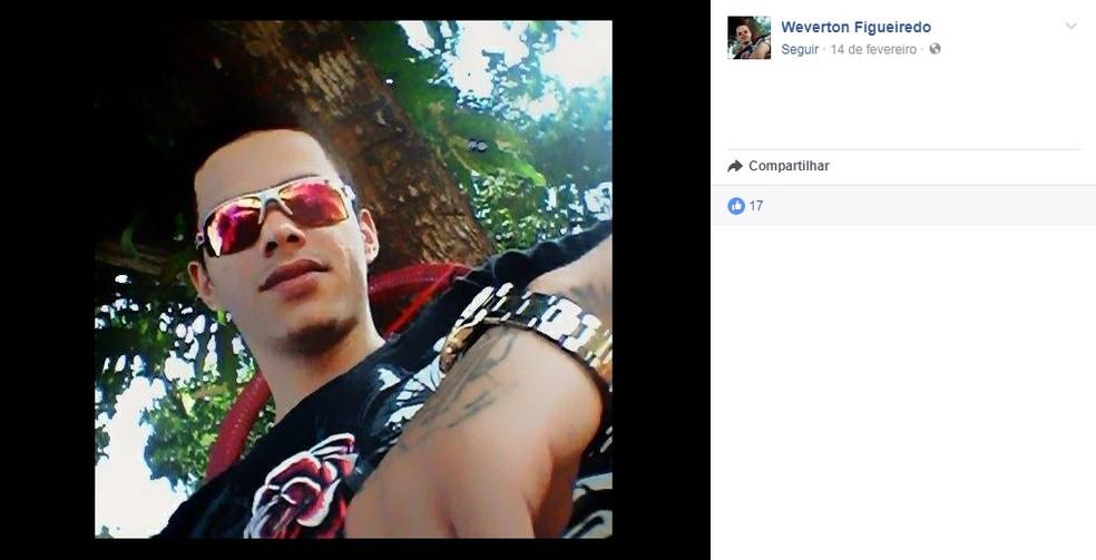 Weverton Figueiredo foi morto a facadas nesta quinta-feira (31) (Foto: Facebook/Reprodução)