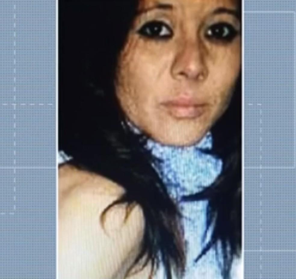 Aparecida de Fátima Alves Garcia, de 34 anos, morreu após ser estuprada em um terreno baldio enquanto estava voltando para casa, na CIC â?? Foto: Reprodução/RPC