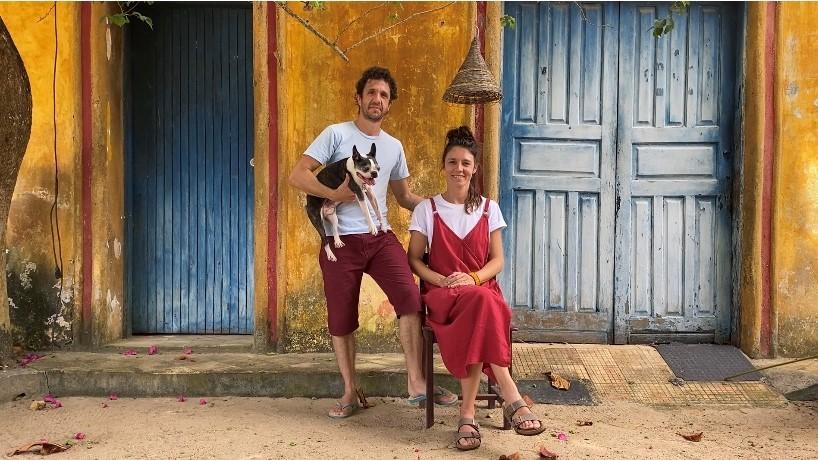 Nicole Tomazi e Sergio Cabral (Foto: Acervo pessoal/Nicole Tomazi)