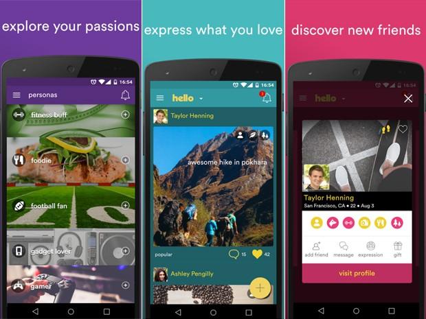 Hello é nova rede social do criador do Orkut (Foto: Divulgação/Hello)