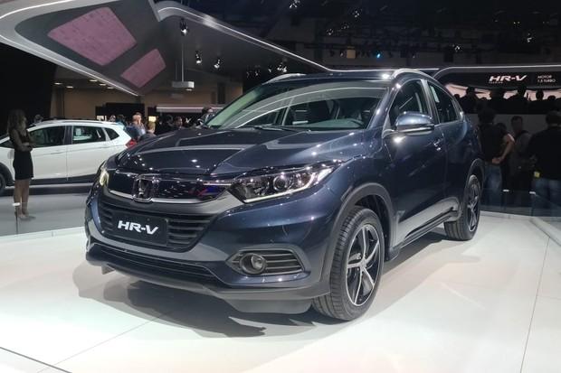 Honda HR-V 2019 terá motor 1.5 turbo apenas no Touring (Foto: Alexandre Izo/Autoesporte)