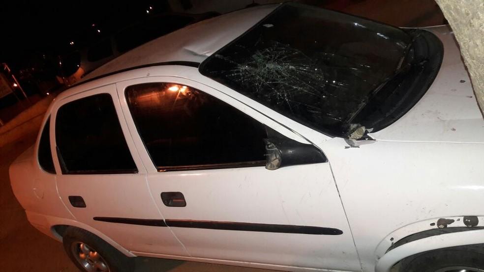 Embriagado, homem atropelou pelo menos sete pessoas em Pau dos Ferros (Foto: Divulgação/ PM)