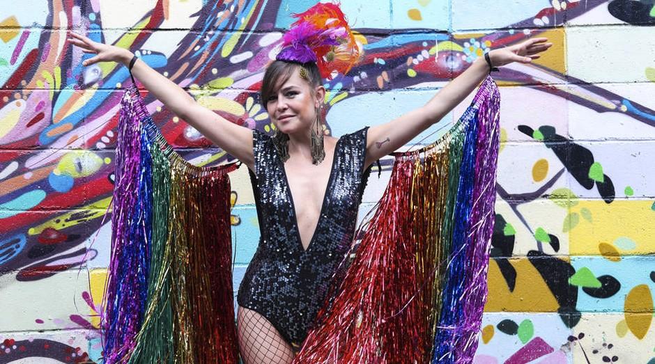 Moda. Graciela vende bodies para a folia e espera que tendência perdure após a Quarta-feira de Cinzas (Foto: Estadão Conteúdo)