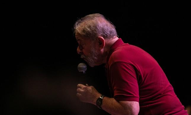 Lula participa de festival do PT no Rio