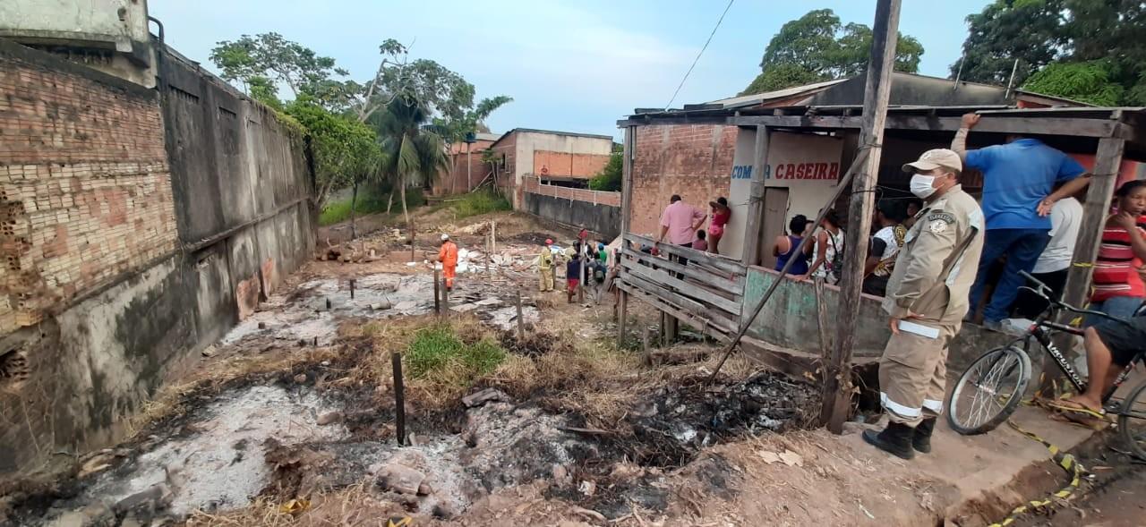 Pedreiro morre esmagado após desabamento de laje em terreno baldio em Macapá
