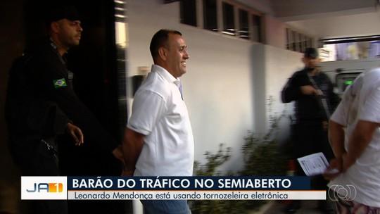 'Barão do Tráfico' começa a cumprir pena no semiaberto e a trabalhar em Goiânia
