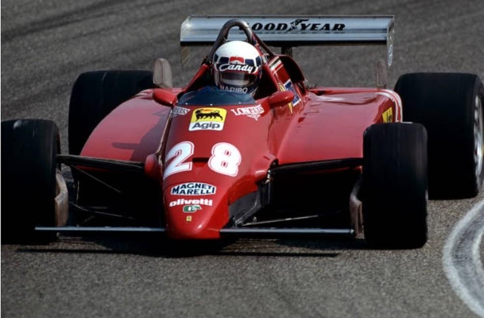 Didier Pironi dominou GP da Holanda de 1982, em Zandvoort — Foto: Getty Images