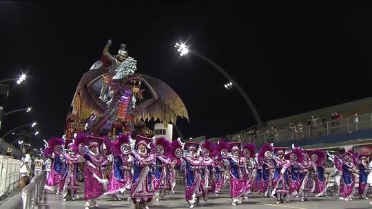 Desfile das Campeãs do carnaval 2019 de São Paulo; FOTOS