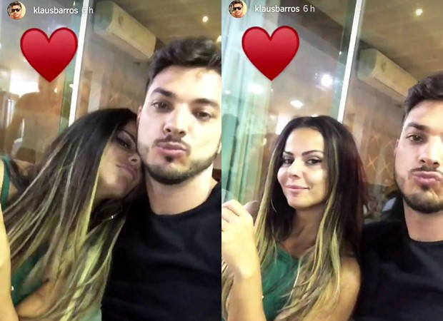 Viviane Araújo e Klaus Barros (Foto: Reprodução/Instagram)