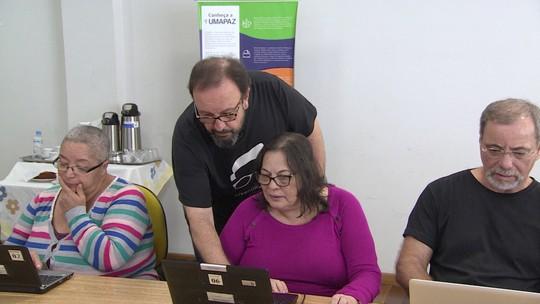 Idosos procuram curso em tecnologia para empreender