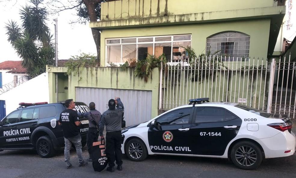 Operação Overload cumpre mandados em Belo Horizonte (MG) — Foto: Reprodução