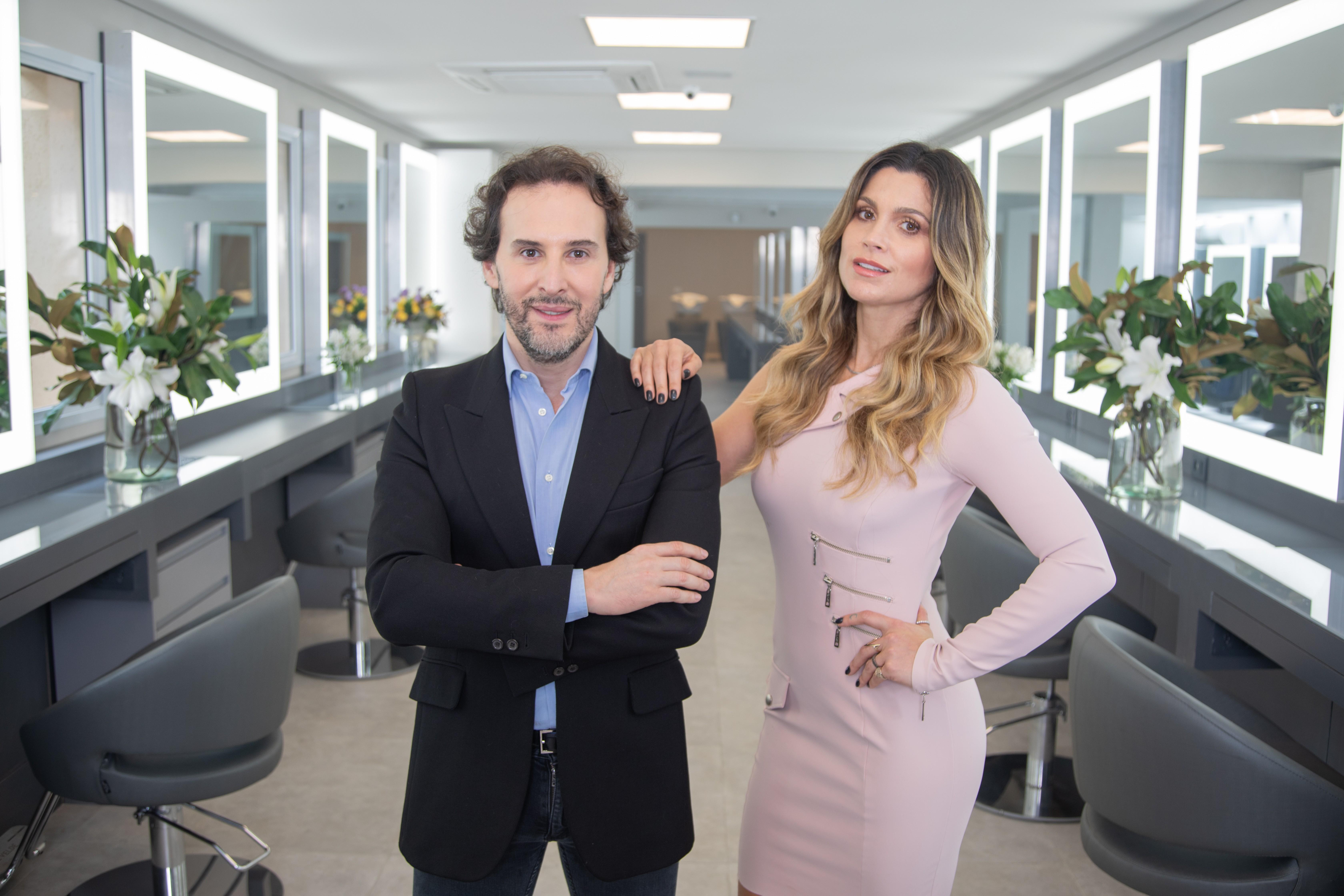Marcos Proença e Flávia Alessandra (Foto: Divulgação)
