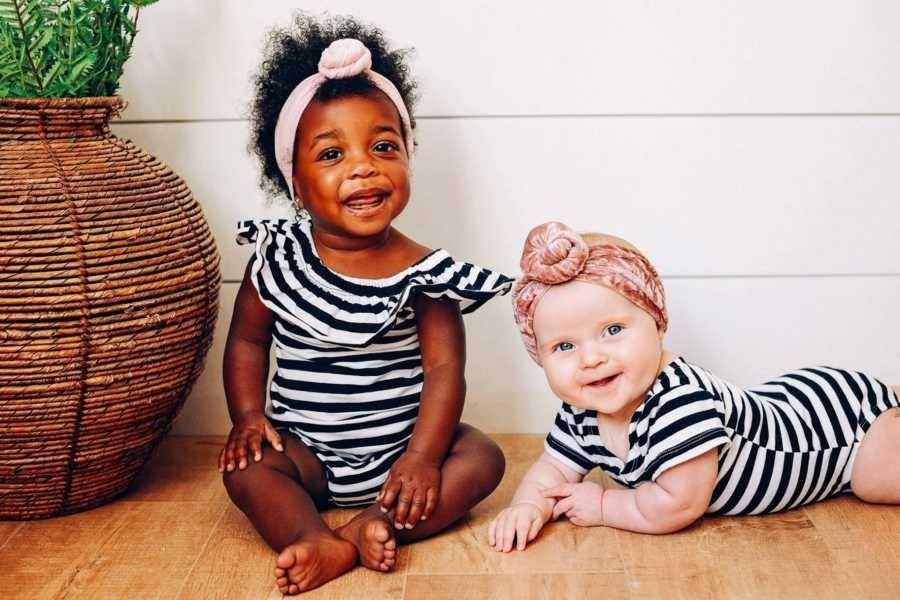 As 'quase gêmeas' (Foto: Reprodução)