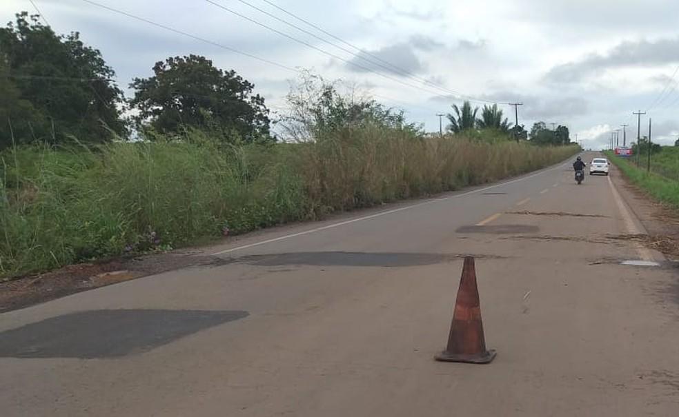 Trecho da BR-222, rodovia em que o acidente aconteceu — Foto: Divulgação/PRF