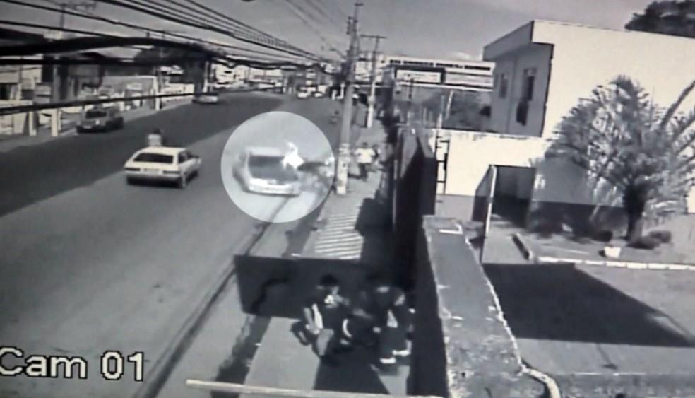 -  Motorista foi preso em flagrante e deve responder por tentativa de homicídio  Foto: Reprodução/EPTV