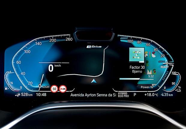 O 745Le traz serviços digitais que garantem conexão com o mundo exterior e utilização intuitiva com conforto e segurança (Foto: Divulgação)