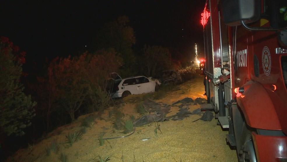 Três pessoas morreram no acidente na Região Norte do RS — Foto: Reprodução/RBS TV