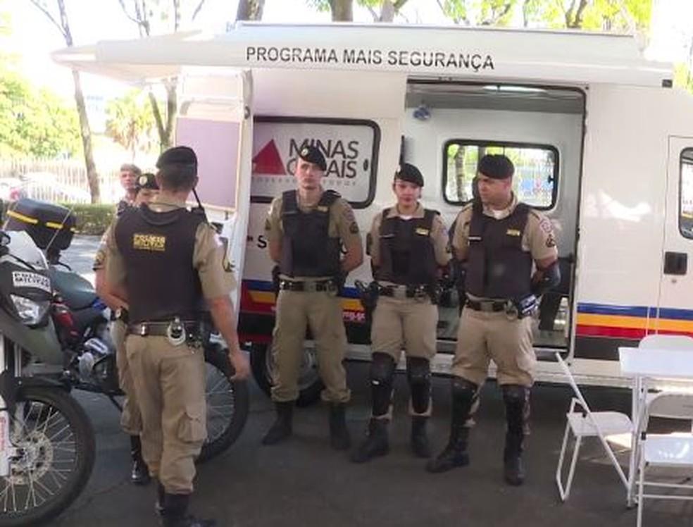 -  Novas bases móveis da Polícia Militar serão instaladas em Juiz de Fora  Foto: Reprodução/ TV Globo