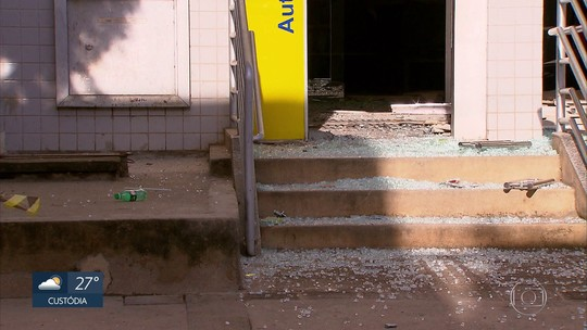 Três são presos suspeitos de explodir banco e atirar em prédio da PM na Zona da Mata de Pernambuco