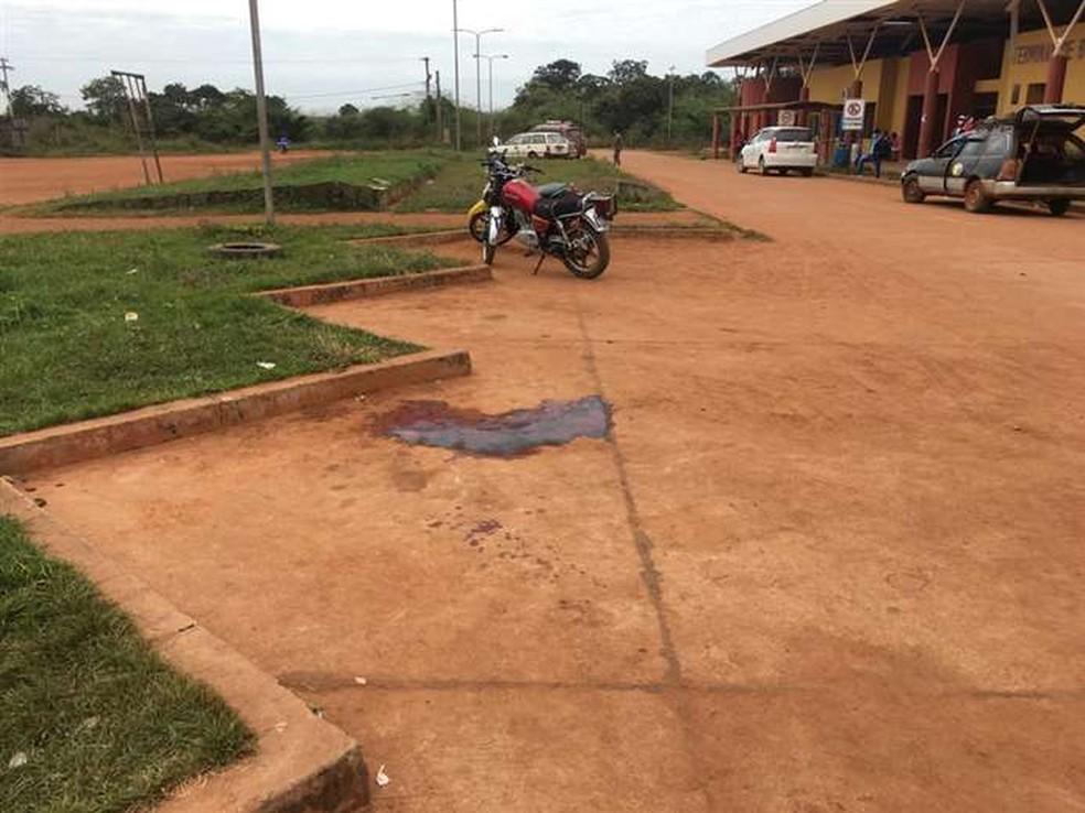 Agrônomo mato-grossense foi assassinado a tiros no sábado (15) na frente do terminal de ônibus de San Ignacio de Velasco, na Bolívia — Foto: El Deber
