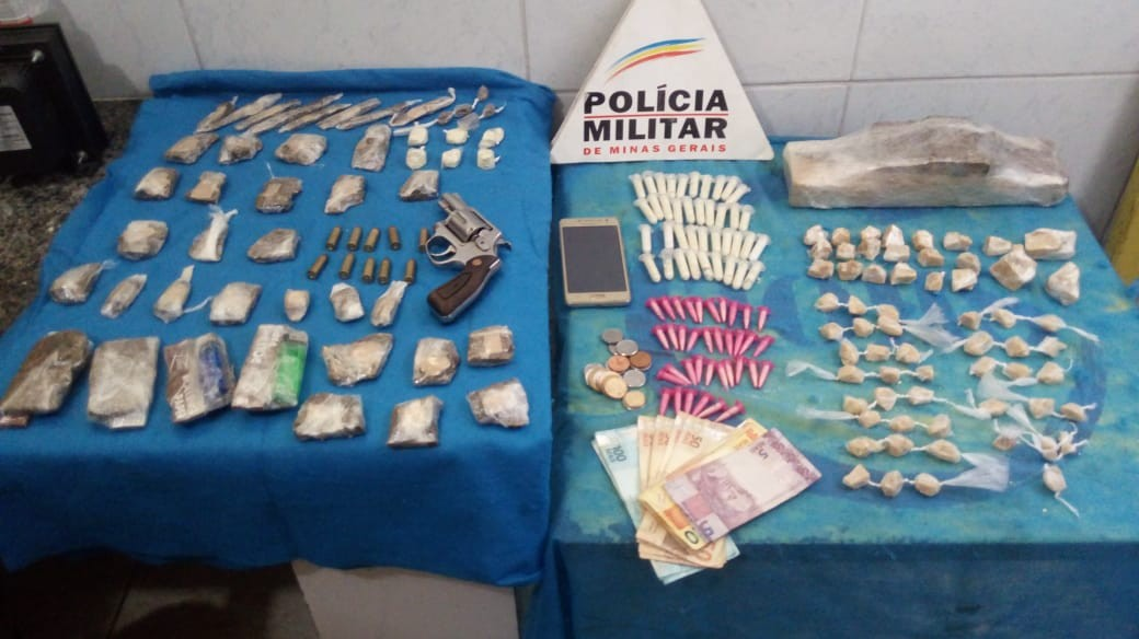 Dupla é detida e adolescente apreendido com drogas em Juiz de Fora - Noticias