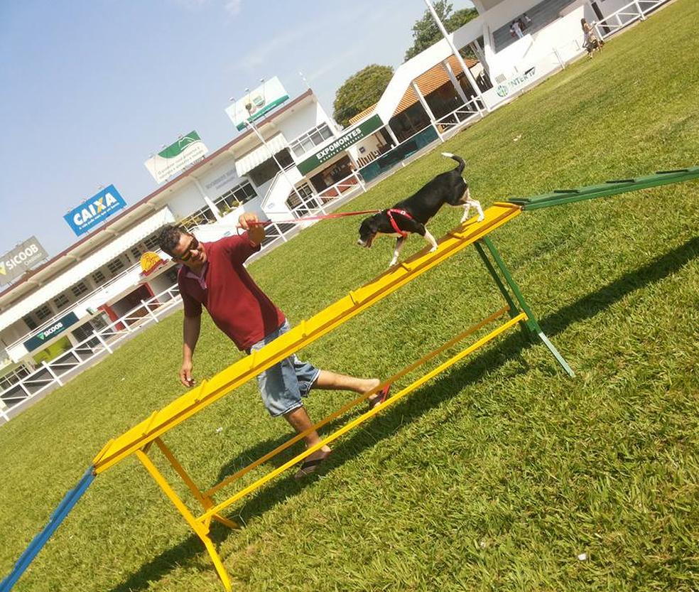 Brincadeiras e atividades físicas deixam o momento ainda mais especial (Foto: Mayara Sampaio/Arquivo pessoal)
