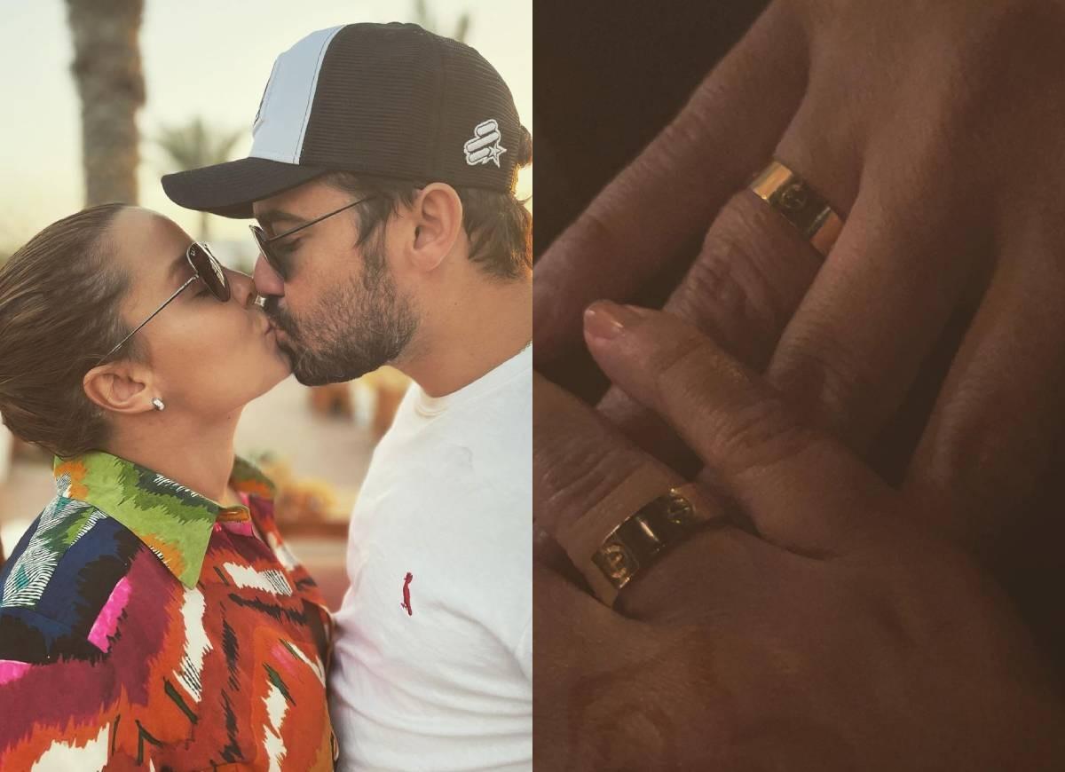 Maiara mostra aliança de noivado com Fernando (Foto: Reprodução/Instagram)