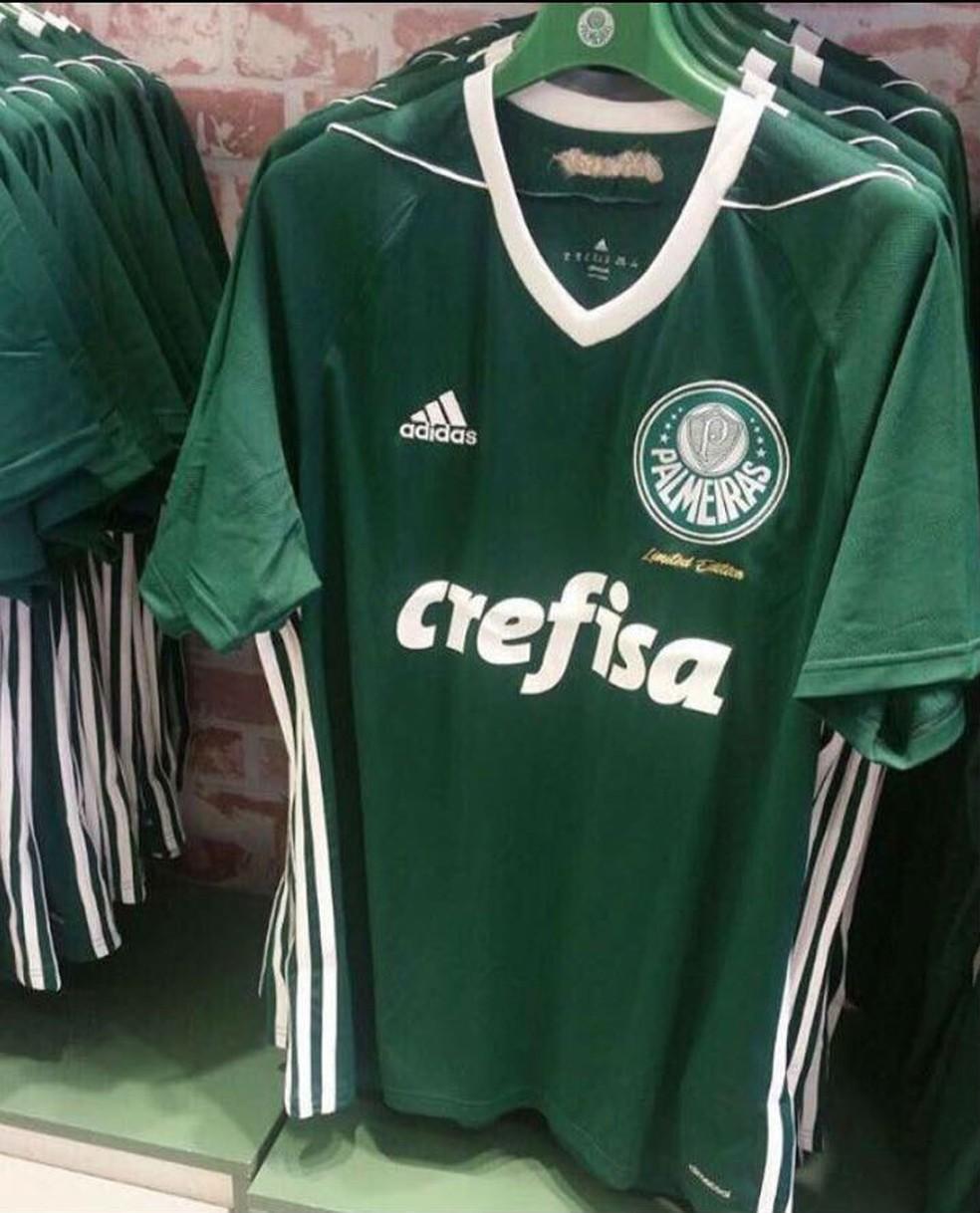 dfd3fdefd661b Fornecedora cria camisa para torcida do Palmeiras com alusão à ...